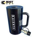 Kietのアルミニウム単動ロックナットの水圧シリンダ