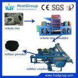Planta de recicl Waste do pneu/pneu usado que recicl a máquina