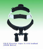 머리띠를 가진 의학 외과 광학적인 돋보기 확대경