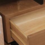 2017 último projeto de cabeceira de madeira maciça para o quarto set (CH-603)