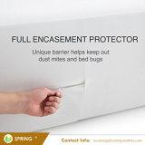 防水マットレスのEncasementの低刺激性のマットレスの保護装置/カバー、ビニールは放す