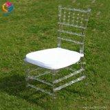Chaise en plastique clair moderne Chiavari Tiffany Président pour mariage
