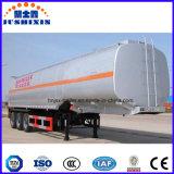 鋼鉄半タンカーの石油燃料タンクトラックのトレーラー