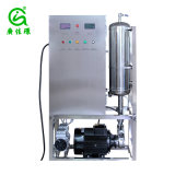 Ozonated el agua de la máquina para el procesamiento de alimentos Esterilizador de ozono