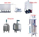 Bevanda gassosa 3 in 1 riga di coperchiamento di riempimento di lavaggio