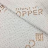 뜨개질을 한 대나무 Fabric&Mattress와 베개 덮개 직물