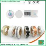 3X3 RF EAS etiquetas suave el papel de la etiqueta EAS de alarma antirrobo para el sistema de seguridad de supermercados