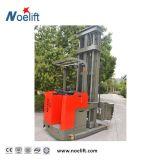 Elektrisches Dreiwegeladeplatten-Ablagefach (stehen-auf Typen) für schmalen Gang-Gabelstapler Tc10