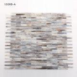 Badezimmer-Wand-Dekoration färbt lineare Glasmosaik-Fliese für Verkauf