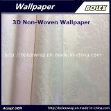 papel pintado no tejido 3D para la decoración casera