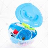 Draagbare Naaiende Uitrusting in Plastic Doos