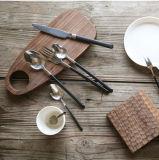 jeu de fourche de couteau de cuillère de l'acier inoxydable 3PCS, jeu campant de couverts, jeu de couverts de pique-nique