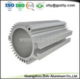 Anodizzare il profilo di alluminio dell'espulsione di alluminio d'argento per le coperture del motore