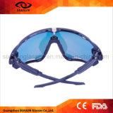 La mode en gros de créateur d'hommes de Dripshipping de fabrication folâtre des lunettes de soleil pour le golf de recyclage de pêche de base-ball avec des accessoires