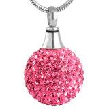 De populaire Tegenhanger van de Crematie van de Bal van de Kristallen van de Juwelen van de Toebehoren van Vrouwen Mini