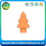 熱い販売のクリスマスツリーの形の美がスポンジを構成する$1000クーポンを得なさい
