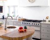 De witte Vastgestelde die Kabinetten van de Keuken van de Stijl van de Schudbeker Stevige Houten in China worden gemaakt
