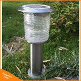 Im Freien Solarrasen-Licht des Edelstahl-LED für Garten-Beleuchtung