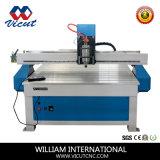 Singolo macchinario Vct-1325we dell'incisione di falegnameria della macchina di CNC della testa