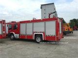 6 Rodas Bombeiros 45L/S caminhão de incêndio do tanque de água