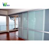 Partition-Glaswand, aufbauendes Büro-dekoratives Trennwand-Glas