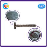 Винт кабеля t нержавеющей стали плоский головной для ванной комнаты