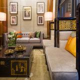 El stand de madera Sofá Sofá para Restaurante Club El vestíbulo del hotel mobiliario