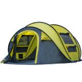 User-Friendly 3person portáteis duráveis estala acima a barraca de acampamento Foldable