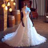 To Wholesale Cheap High quality bend Train Bridal Wedding Dress