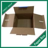 Caixa de papel engarrafada portador de embalagem da água do punho
