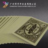 Personnalisé Papier de base Noir de la publicité Cartes à jouer de Poker