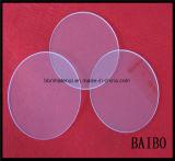 Templado ultra delgado disco de vidrio de cuarzo de curado UV