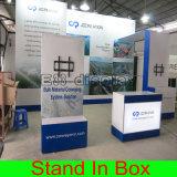 Reconfiguration modulaire réutilisable portative de salon d'exposition annonçant le stand
