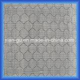 Tela del híbrido de la fibra del carbón de la fibra de vidrio de la armadura del panal