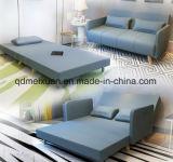 二重折りたたみの多機能のソファーの簡単な昼食の仮眠の布の芸術のソファーベッド3の折るソファーベッド(M-X3266)
