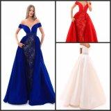Выключение взять на себя мини-платье Vestidos Prom вечерние платья T50309