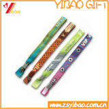 Logo personnalisé Bracelet Bracelet en tissu tissé /(YB-SM-16)