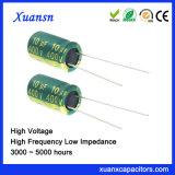 De Elektrolytische Condensator van het huisdier 10UF 400V voor Adapter