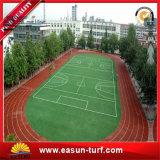 Het openlucht Kunstmatige Gras van het Gras van het Gebied van het Voetbal