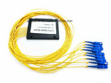 Divisore del PLC della scatola di plastica di telecomunicazione 1X8 di Gpon