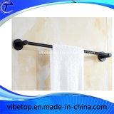 Rek van de Handdoek van de Ring van de Handdoek van de Badkamers van het roestvrij staal het Zwarte
