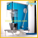 Table Top Modèle corps en acier inoxydable de la crème glacée de fruits de la machine de turbulences