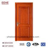 Дверь двери твердой древесины самомоднейшей конструкции нутряная деревянная