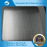 Hoja de acero inoxidable y placa de 202 colores para la decoración sin. 4, hl de la superficie