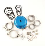 Azul novo de Wastegate Mvs 38mm com V-Band e flanges Mv-S