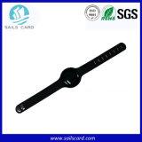 Bracelet de clé d'IDENTIFICATION RF de silicones de Reusible