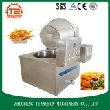 Alimento de las patatas fritas de la alta capacidad que hace la máquina y que fríe la máquina