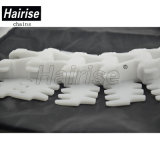 De Flexibele Transportband van Hairise 2480pmo met Grote Straal Sideflex