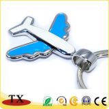 Mode d'avion Air en métal de couleur de la chaîne de clé