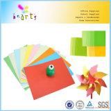 70GSM A4 Fertigkeit sortierte Farben-Papier der Massen-10
